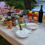 Grillen - Salatbuffet
