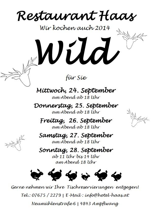 Wild Plakat 2014